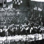 300-летний юбилей Архангельских лоцманов 8 ноября 1913 года. Парадный обед в Коммерческом Собрании.