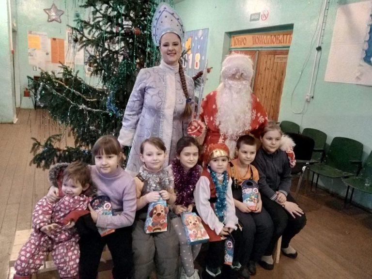 Новогодние праздники в Княжестровском Доме культуры