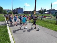 Детская олимпиада в Повракульском СДК