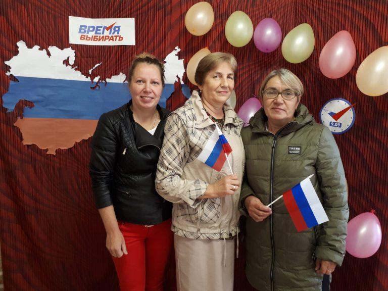Единый день голосования вПовракульскомДК