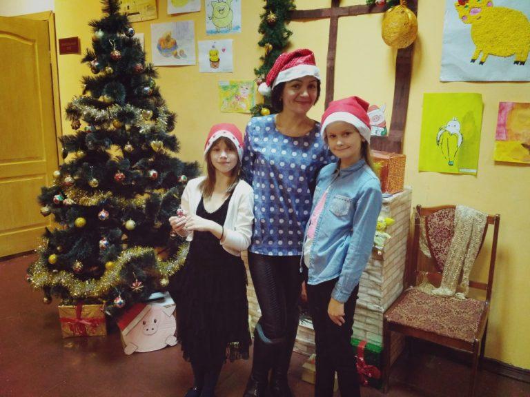 Детская дискотека в Васьковском Доме культуры