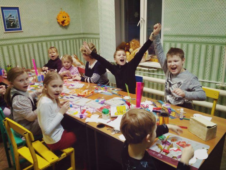 Новогодняя мастерская в Васьковском Доме культуры
