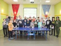 Патриотический турнир по настольному теннису в Уемском ДК
