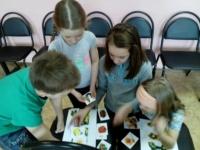 «Шуточная олимпиада» в Катунинском ДК