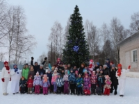 Снежные состязания «Рождественская куролесица»